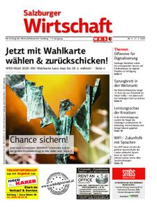 Salzburger Wirtschaft – 21. Februar 2020