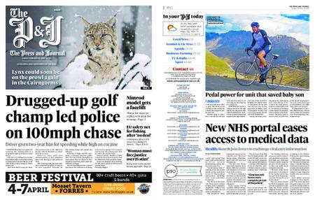The Press and Journal Moray – February 15, 2019