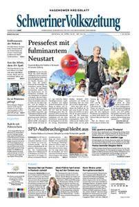 Schweriner Volkszeitung Hagenower Kreisblatt - 23. April 2018