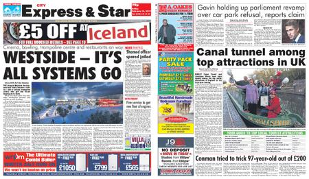 Express and Star City Edition – February 15, 2019