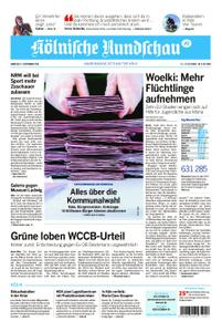 Kölnische Rundschau Wipperfürth/Lindlar – 12. September 2020