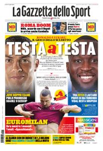 La Gazzetta dello Sport – 15 settembre 2020