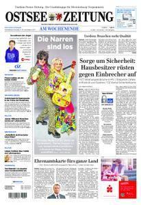Ostsee Zeitung Wolgast - 11. November 2017