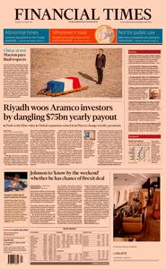 Financial Times UK – 01 October 2019