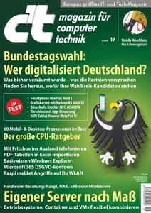 c't Magazin - No 19 vom 28 August 2021