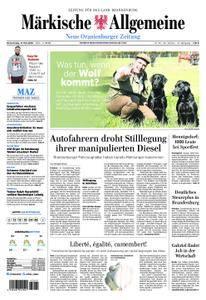 Neue Oranienburger Zeitung - 17. Mai 2018