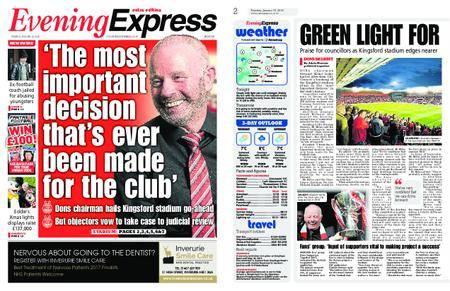 Evening Express – January 30, 2018