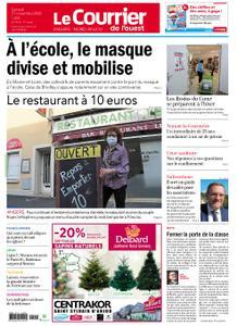 Le Courrier de l'Ouest Angers – 21 novembre 2020