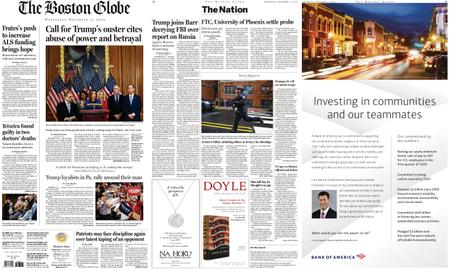 The Boston Globe – December 11, 2019