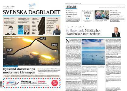Svenska Dagbladet – 13 januari 2018
