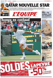 L'EQUIPE (24 Juin 2011)