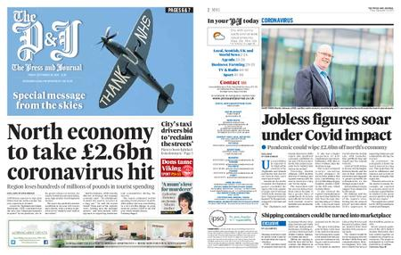 The Press and Journal Moray – September 18, 2020