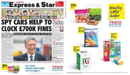 Express and Star Sandwell Edition – April 05, 2018