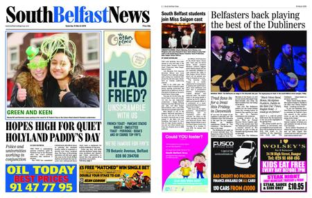 South Belfast News – March 14, 2019