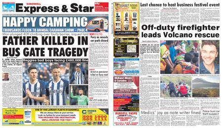 Express and Star Sandwell Edition – February 21, 2018