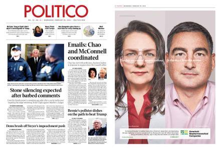 Politico – February 20, 2019