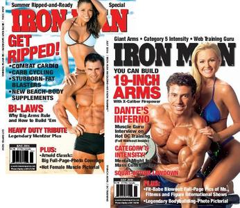 Two Ironman Magazine Issues - June 2006 & July 2006