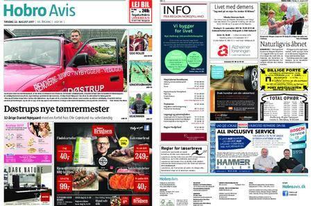 Hobro Avis – 22. august 2017