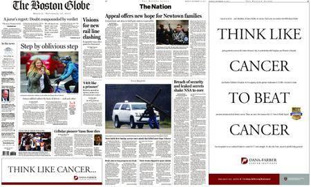 The Boston Globe – November 13, 2017