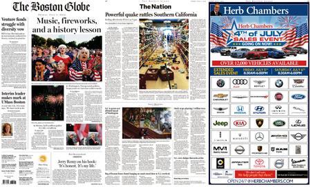 The Boston Globe – July 05, 2019