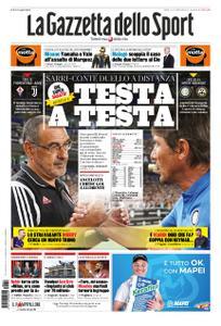 La Gazzetta dello Sport Roma – 14 settembre 2019