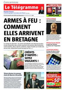 Le Télégramme Concarneau – 25 octobre 2019