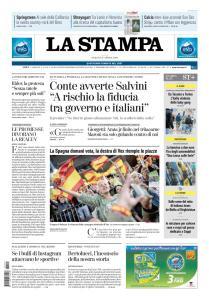 La Stampa Torino Provincia e Canavese - 27 Aprile 2019