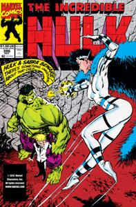 Incredible Hulk 386 1991b