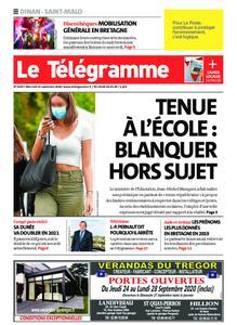 Le Télégramme Saint Malo – 23 septembre 2020