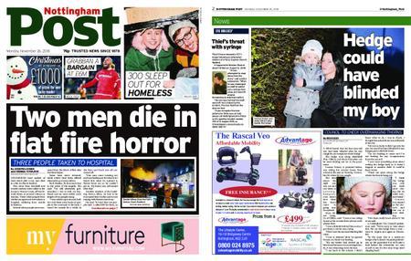 Nottingham Post – November 26, 2018