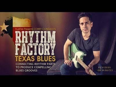 Corey Congilio's - Rhythm Factory: Texas Blues [repost]