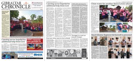 Gibraltar Chronicle – 26 October 2020
