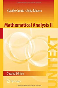 Mathematical Analysis II, 2 edition (repost)