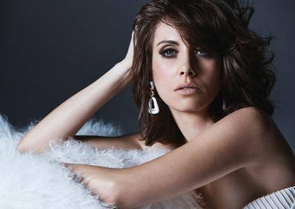 Alison Brie by Diego Uchitel for Los Angeles Confidential January 2018