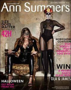 Ann Summers - Lingerie Halloween Autumn Winter Collection Catalog 2016