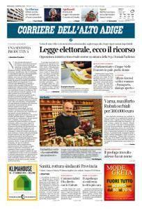 Corriere dell'Alto Adige - 17 Gennaio 2018