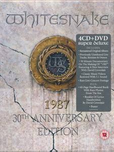 Whitesnake - 1987 (2017) [4CD + DVD Super Deluxe Box Set]