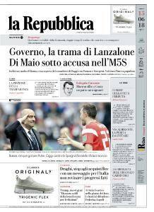 la Repubblica - 15 Giugno 2018