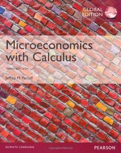 Microeconomics with Calculus (repost)