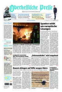 Oberhessische Presse Marburg/Ostkreis - 31. Juli 2018