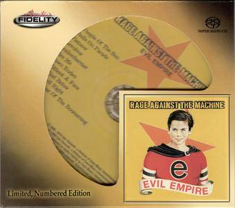 Rage Against The Machine - Evil Empire (1996) [Audio Fidelity 2016] Re-Up