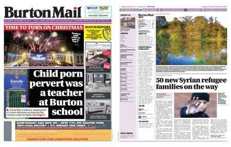 Burton Mail – November 18, 2017