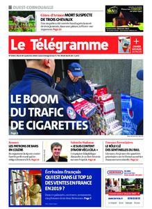 Le Télégramme Ouest Cornouaille – 29 septembre 2020