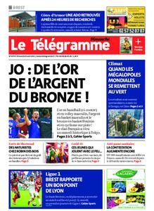 Le Télégramme Brest Abers Iroise – 08 août 2021