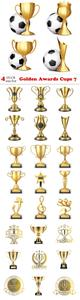 Vectors - Golden Awards Cups 7