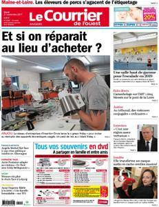 Le Courrier de l'Ouest Angers - 21 novembre 2017