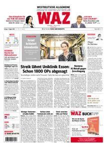 WAZ Westdeutsche Allgemeine Zeitung Oberhausen-Sterkrade - 03. August 2018