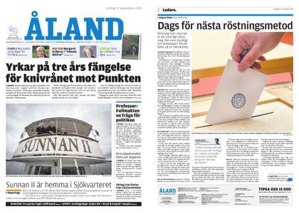 Ålandstidningen – 21 september 2019
