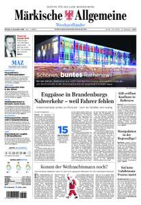 Märkische Allgemeine Westhavelländer - 03. Dezember 2018