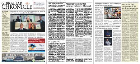 Gibraltar Chronicle – 12 February 2021